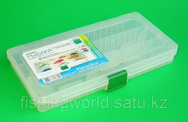 Коробка рыбака fisherbox 216sh (216x120x20) slim - фото 1