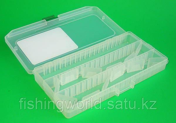Коробка рыбака fisherbox 216sh (216x120x20) slim - фото 2