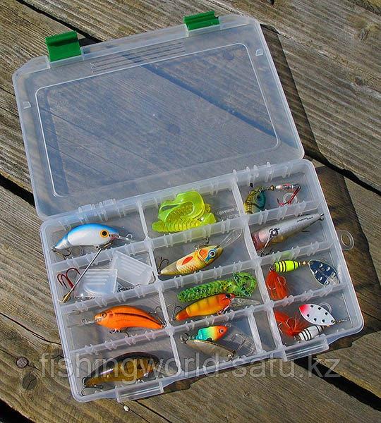 Коробка рыбака fisherbox 216sh (216x120x20) slim - фото 3