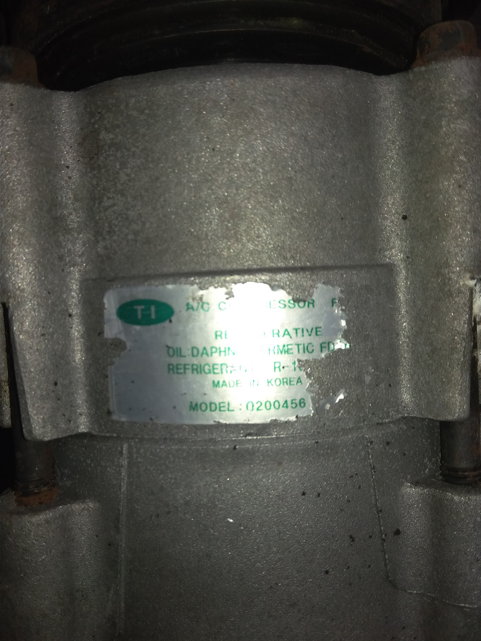 Компрессор кондиционера Hyundai Santa fe, G6BA 2.7