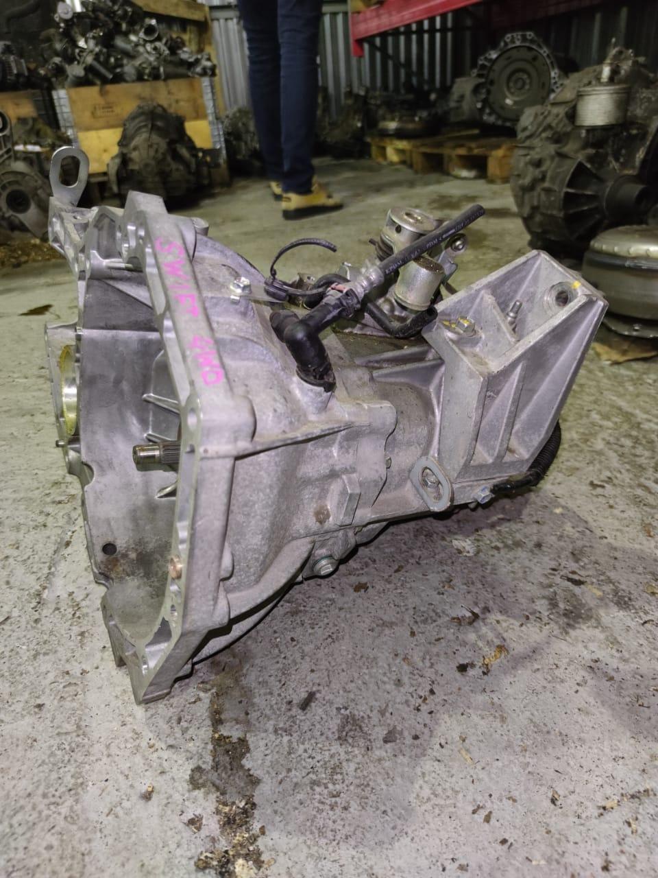 5-ст МКПП, Suzuki Swift, K12B 1.2,4WD 2010-