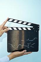 Кино-хлопушка Черная (Акрил), фото 2