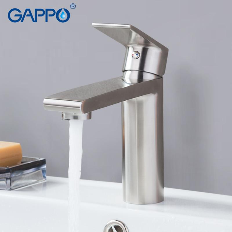 Смеситель для умывальника GAPPO 1099-20