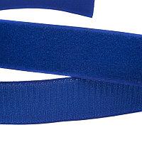 Липучка 25 мм,пришивная,хаки ярко-синий