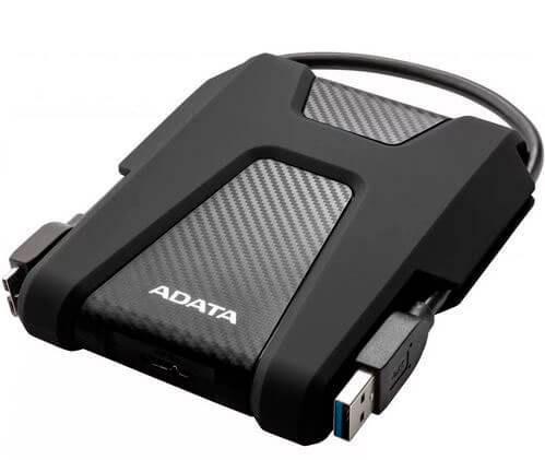 Внешний жесткий диск 2,5 1TB Adata AHD680-1TU31-CBK черный