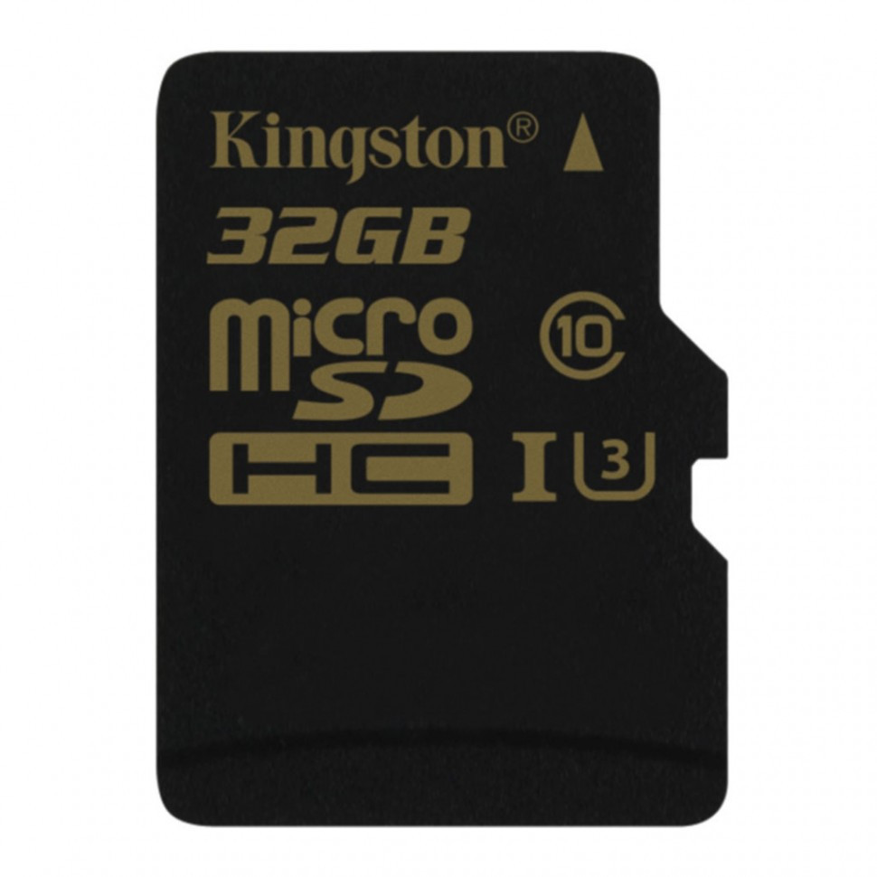 Карта памяти MicroSD 32GB Class 10 U3 Kingston SDCG/32GB