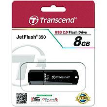 USB накопитель 8GB 2.0 Transcend TS8GJF350 черный