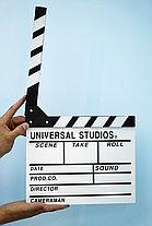Кино-хлопушка Белая (деревянная), фото 2
