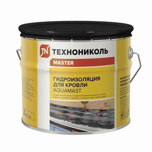 Битумная мастика AquaMast 22 кг