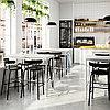 ТОММАРЮД Стол, светло-серый, 130x70/105 см