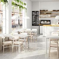 ТОММАРЮД Стол, светло-серый, 130x70 см, фото 1