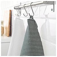 ТРОЛЛЬПИЛ Полотенце кухонное, белый, зеленый, 50x70 см, фото 1