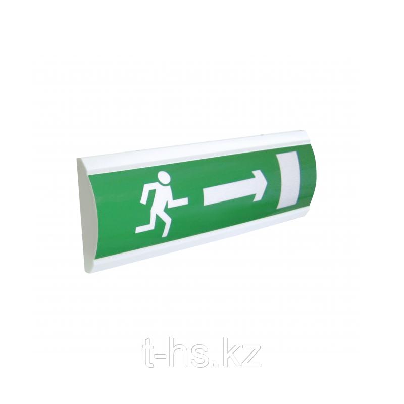 """ЛЮКС-24 """"Человек стрелка вправо дверь"""" Оповещатель световой, 24В табло"""