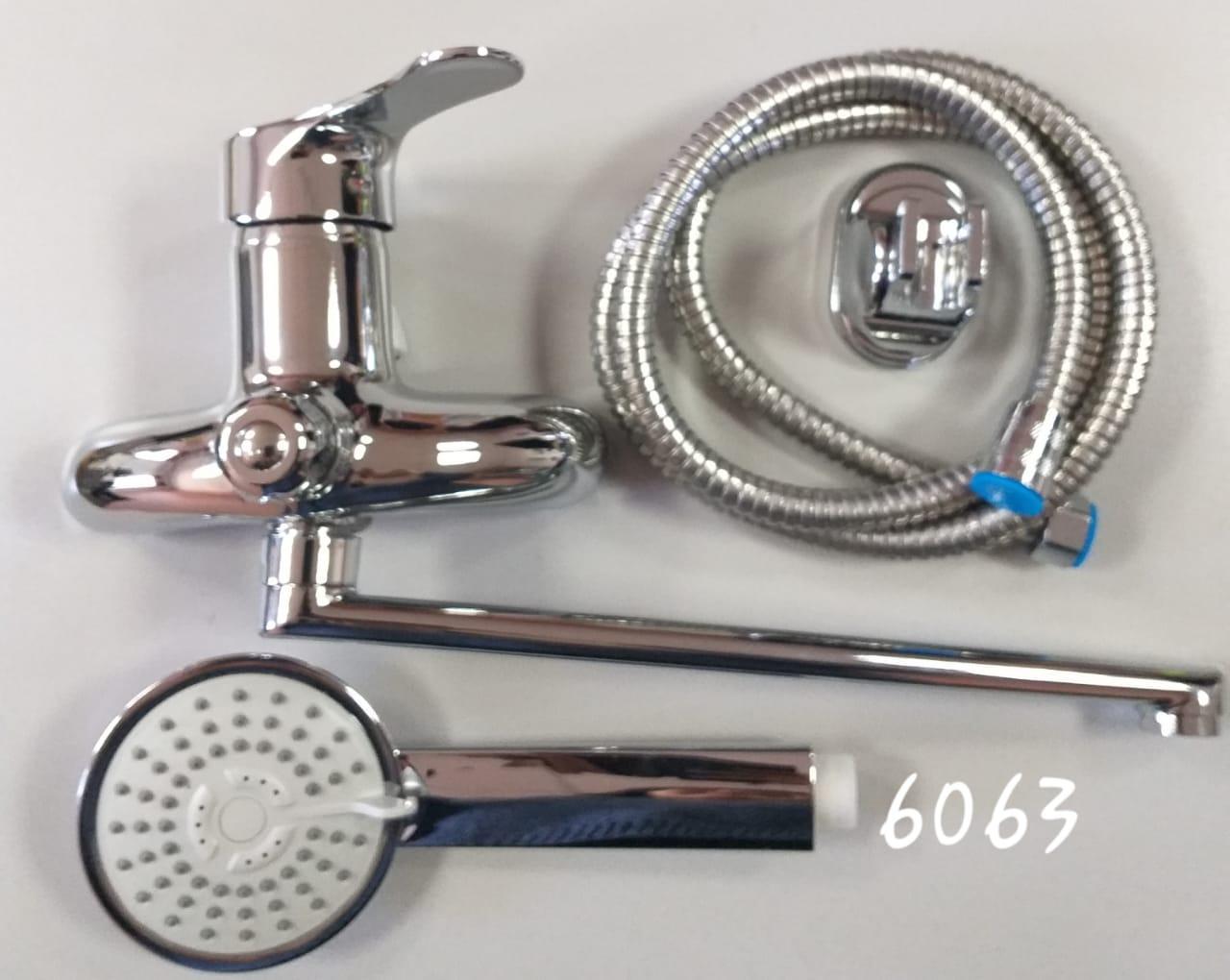 Смеситель для ванной Кристалл 6063
