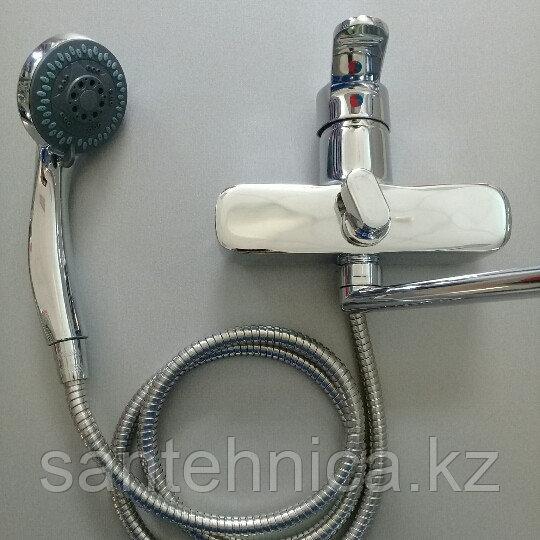 Смеситель для ванны Кристалл К 8063 длинный гусак