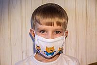 Маска защитная для ДЕТЕЙ, фото 1