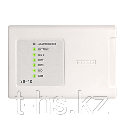 УО-4С (исп.02) Устройство оконечное, контроль 4-х шлейфов, сис-ма передачи извещений по каналу GSM