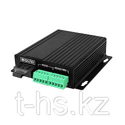 RS-FX-SM40 преобразователь интерфейсов RS232/422/485 в оптику и обратно. Одномодовое волокно до 40км
