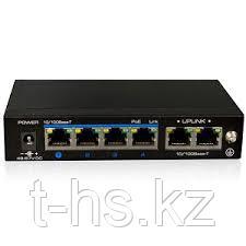 UTEPO UTP3-SW04-TP60 Коммутатор 4-портовый неуправляемый PoE