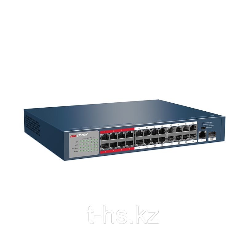 Hikvision DS-3E0326P-E PoE свитч 24-портовый