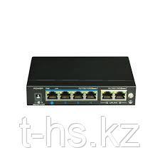 UTEPO UTP3-GSW04-TPD60 Коммутатор 4-портовый неуправляемый PoE 4К
