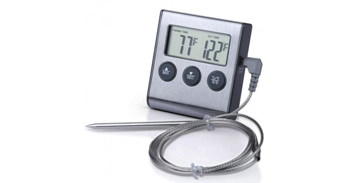 Термометр-щуп с звуковым сигналом тр-700