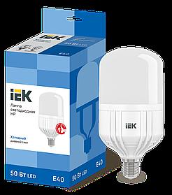 Лампа светодиодная HP 50Вт 230В 6500К E40 ИЭК