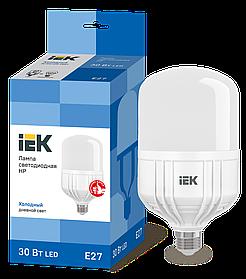 Лампа светодиодная HP 30Вт 230В 6500К E27 ИЭК