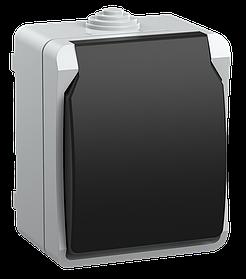РСб20-3-ФСр Розетка одноместная с з/к для открытой установки ФОРС IP54 ИЭК