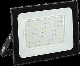Прожектор СДО 06-100 светодиодный черный IP65 6500 K ИЭК