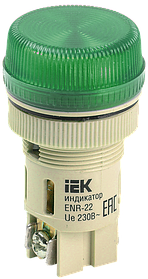Светосигнальная арматура ENR-22 зеленый /ИЭК/