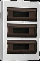 Корпус пластиковый ЩРН-П-36 модулей навес.(437*307*100) ИЭК