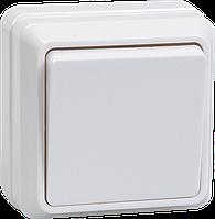 Выключатель ВС20-1-0-ОБ 1кл 10А откр.уст. ОКТАВА (белый) ИЭК