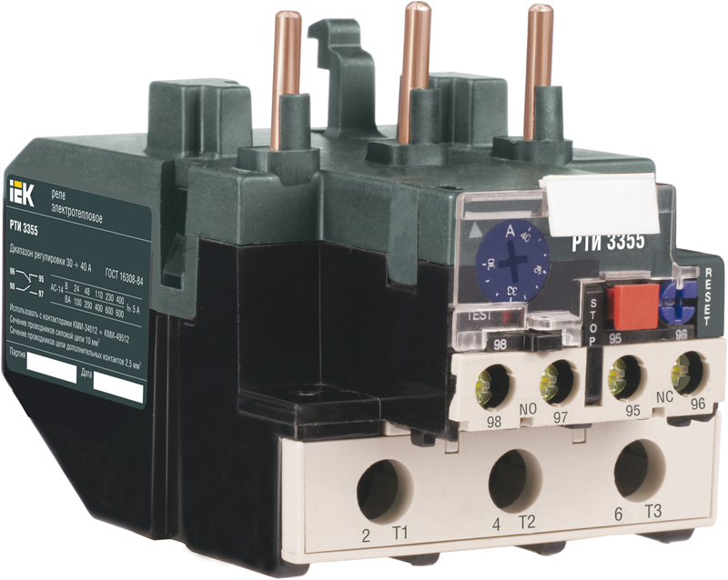 Реле РТИ-3361 электротепловое 55-70 А (ИЭК)