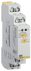 Реле тока ORI. 0,5-5 А. 24-240 В AC / 24 В DC ИЭК