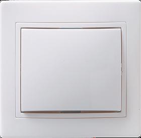 Выключатель ВС 10-1-0-КБ однокл.10А КВАРТА (белый) ИЭК
