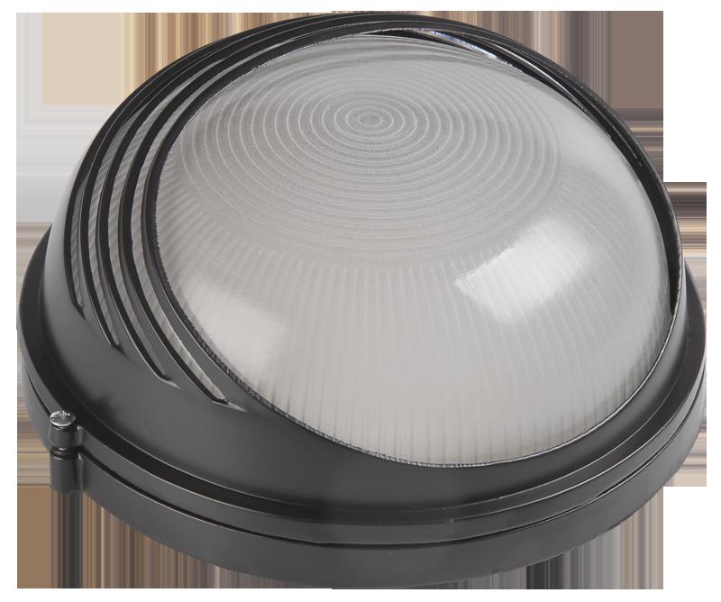 Светильник НПБ 1107 белый круг ресничка  ИЭК