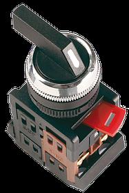 Кнопка ALC-22 на 2 фикс.положения черн.с длин.рукоят. (ИЭК)