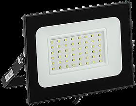 Прожектор СДО 06-50 светодиодный черный IP65 4000 K ИЭК
