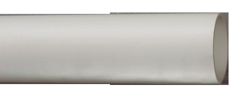 Труба гладкая жесткая ПВХ d=50 серая (15м),3м ИЭК