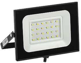 Прожектор СДО 06-30 светодиодный черный IP65 6500 K ИЭК