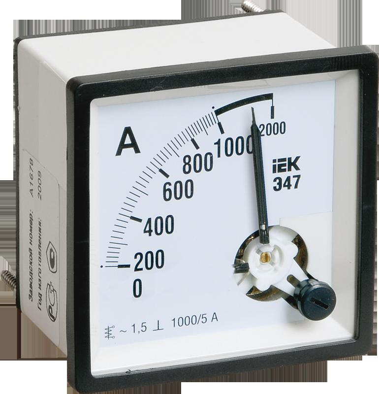 Амперметр Э47 50А кл. точн. 1,5 72х72мм