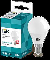 Лампа светодиодная ECO G45 шар 9Вт 230В 4000К E14 ИЭК