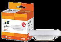 Лампа светодиодная ECO T75 таблетка 15Вт 230В 3000К GX53 ИЭК