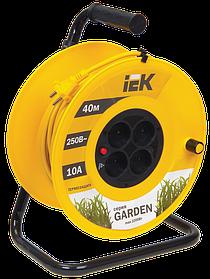 """Удлинитель УК-40 с термозащ. 4места 2Р 40м 2*1,0мм2 """"Garden"""" (ИЭК)"""