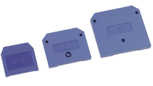 Заглушка для ЗНИ 4-6мм2(JXB35-50А)синий ИЭК