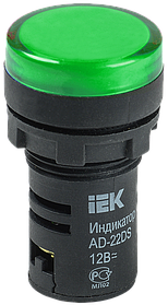 Светосигнальная арматура AD-22DS зеленый (ИЭК)