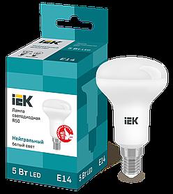 Лампа светодиодная ECO R50 рефлектор 5Вт 230В 4000К E14 ИЭК