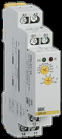Реле тока ORI. 1,6-16 А. 24-240 В AC / 24 В DC ИЭК