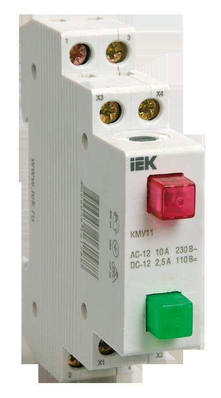 Кнопка управления модульная КМУ11 (ИЭК)